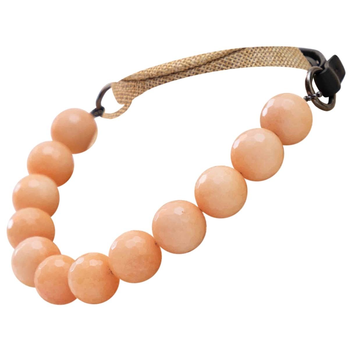 Brunello Cucinelli - Collier   pour femme en perles - rose