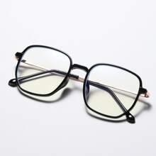 Anti-Blaulicht-Brille mit quadratischem Rahmen