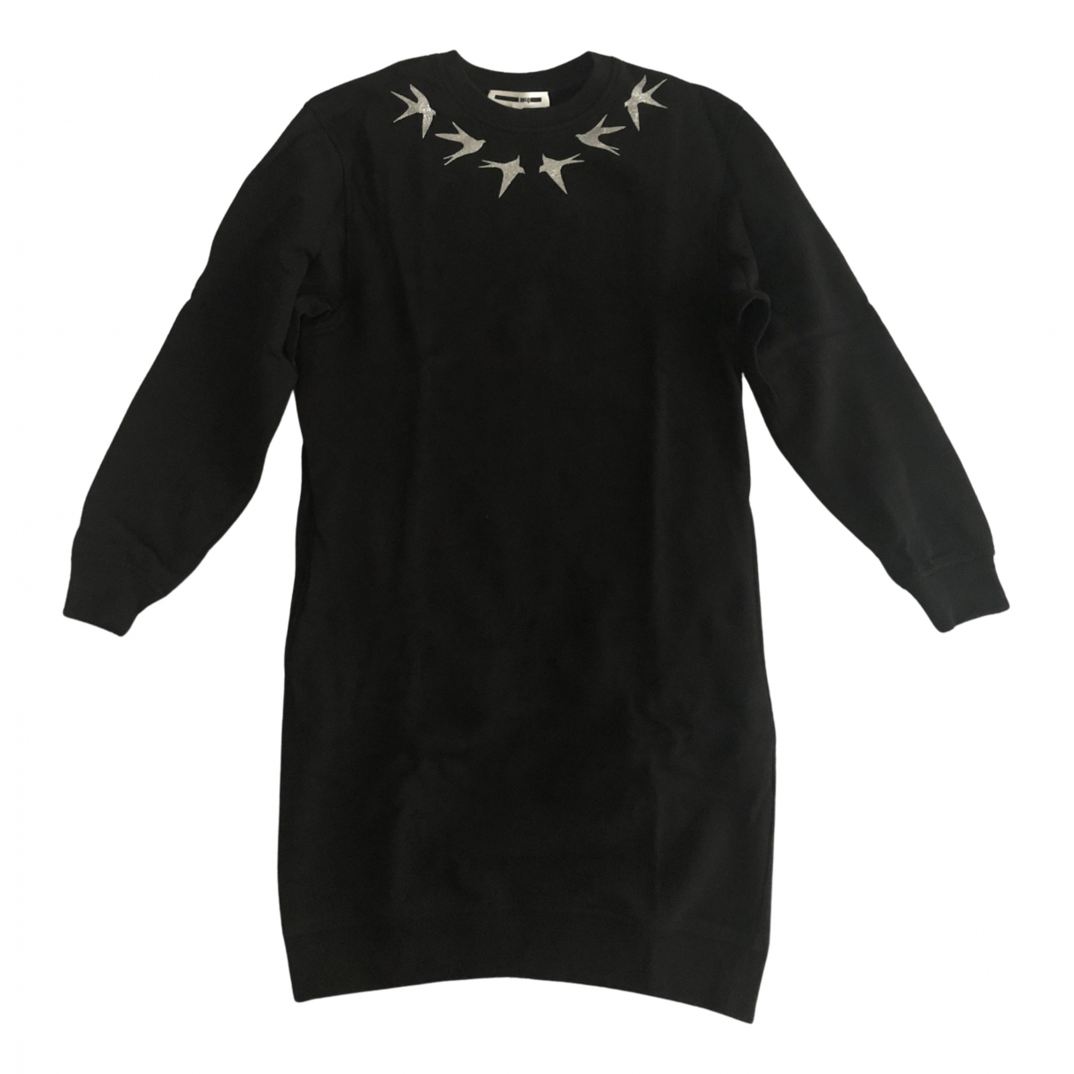 Mcq N Black Cotton dress for Women XS International