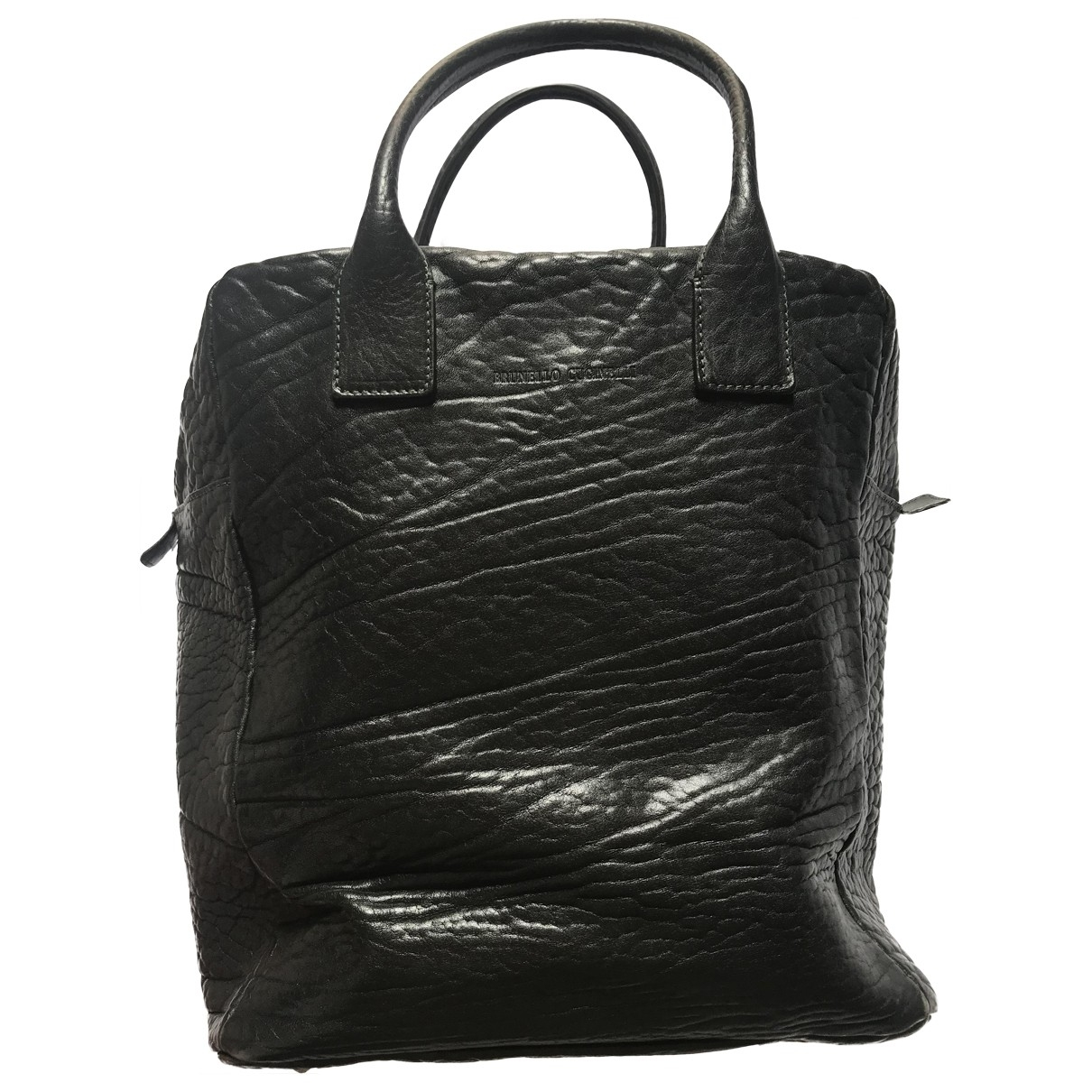 Brunello Cucinelli \N Green Leather handbag for Women \N
