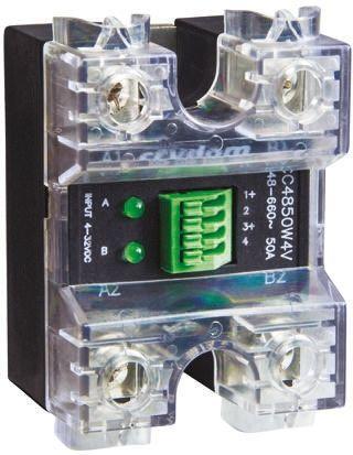Sensata / Crydom 50 A rms Solid State Relay, Zero Cross, Panel Mount, 600 V rms Maximum Load