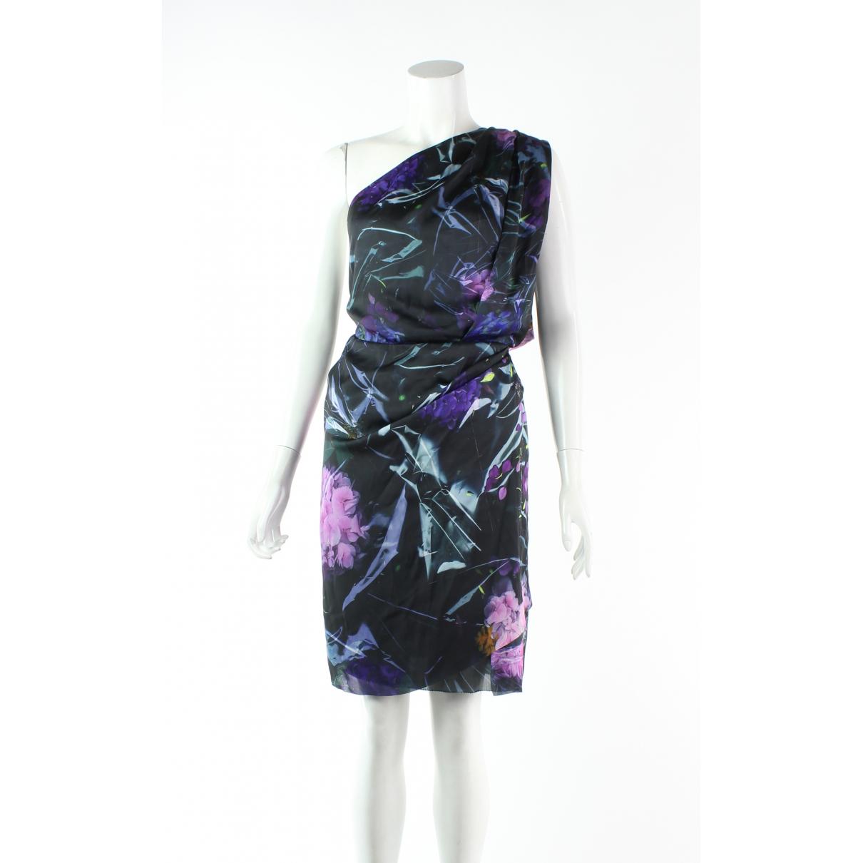 Acne Studios \N Kleid in  Lila Polyester