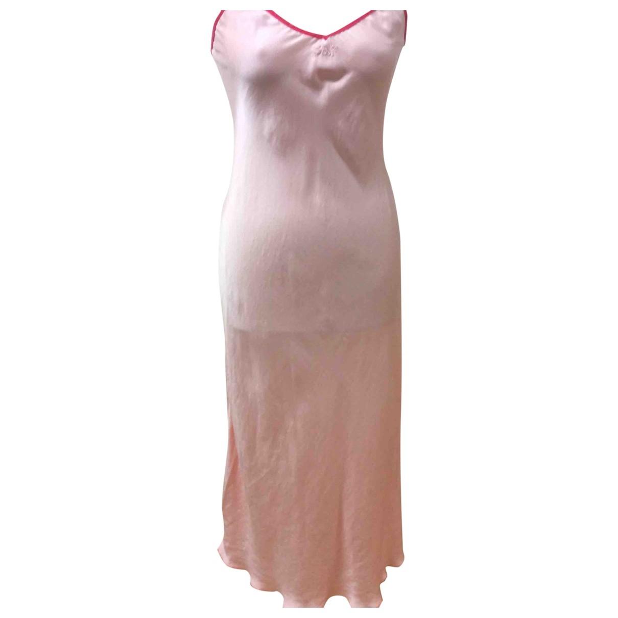 Parosh - Robe   pour femme en soie - rose