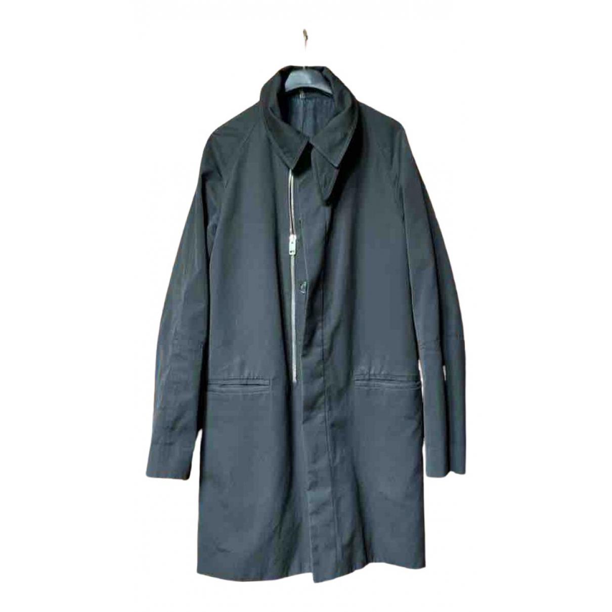 Abrigo en Poliester Negro Dior Homme
