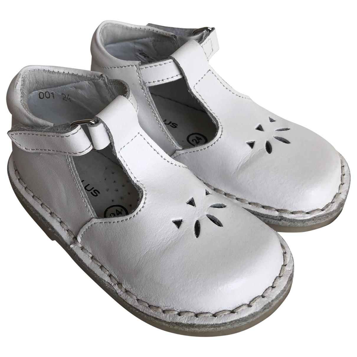 Cyrillus - Sandales   pour enfant en cuir - blanc