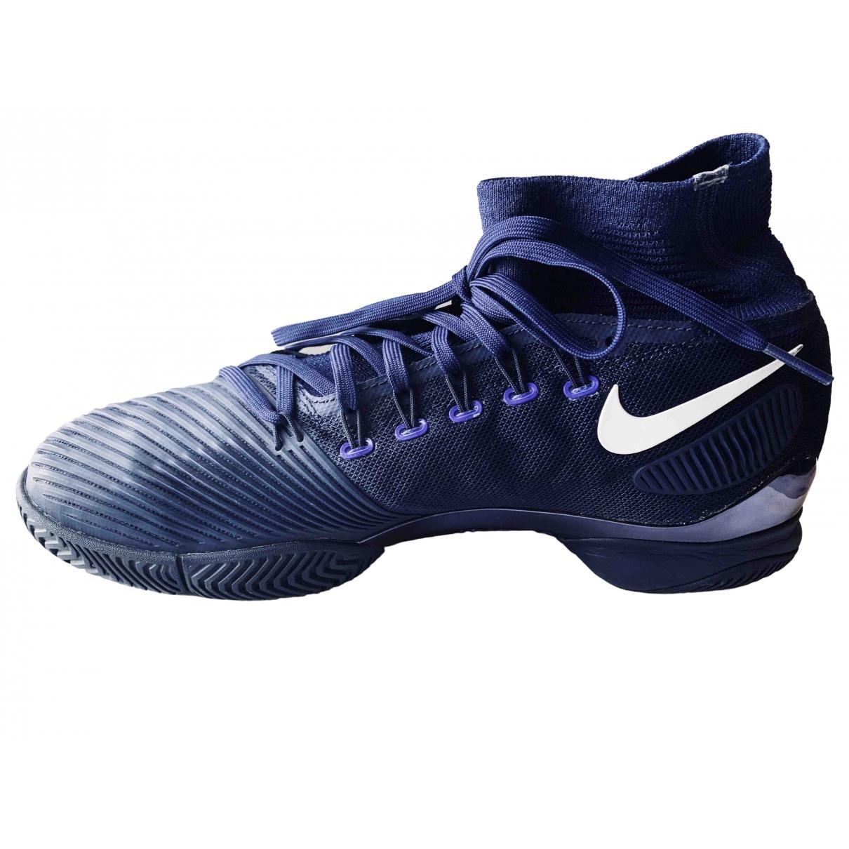 Nike - Baskets Zoom Fly  pour homme en toile - bleu