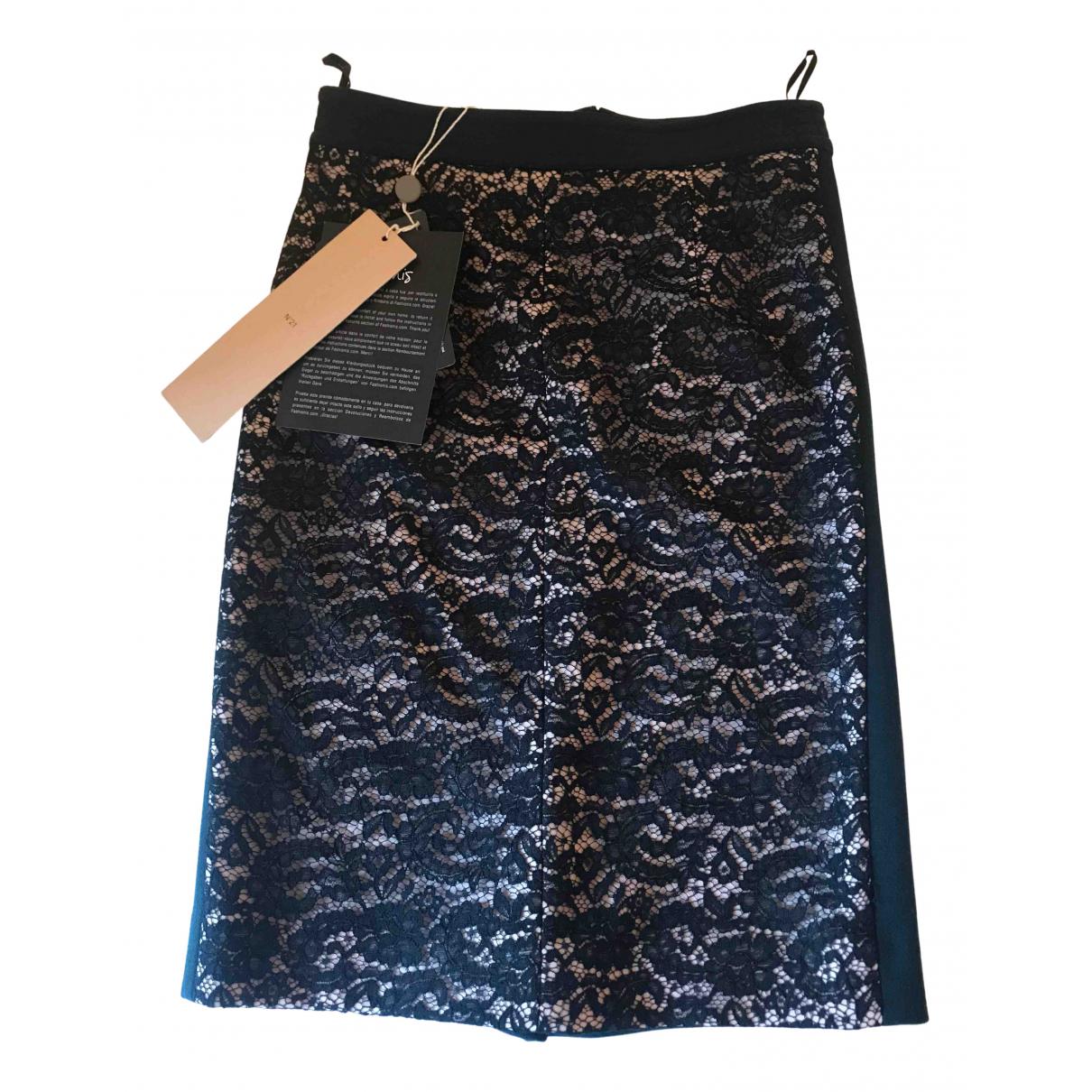 N°21 - Jupe   pour femme en laine - noir