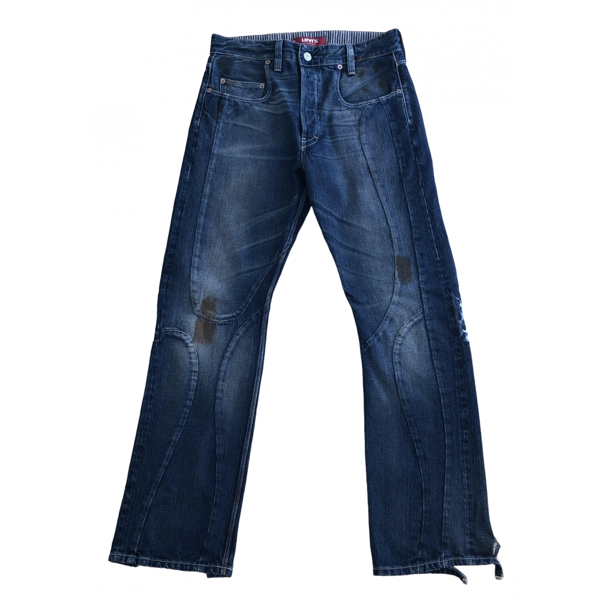 Levi's Vintage Clothing \N Blue Denim - Jeans Trousers for Men 32 UK - US