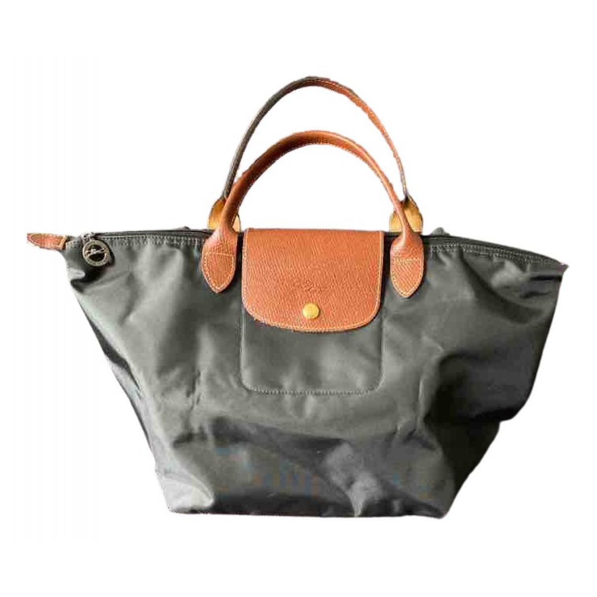 Longchamp - Sac a main Pliage  pour femme en toile - noir