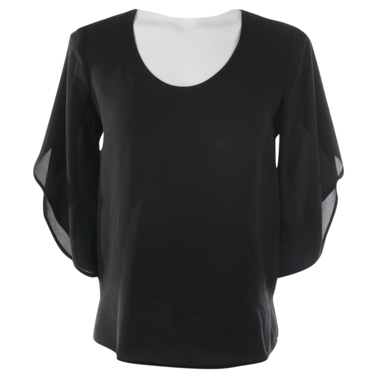 Diane Von Furstenberg N Black Silk  top for Women 34 FR