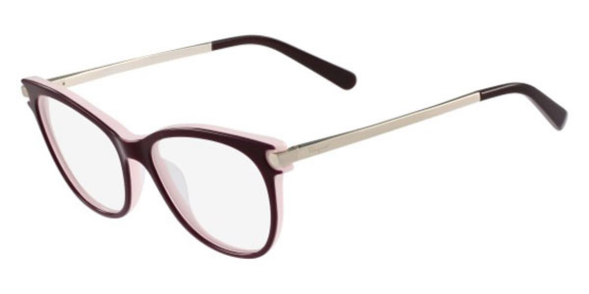 Salvatore Ferragamo SF 2763 635 Women's Glasses Pink Size 53 - Free Lenses - HSA/FSA Insurance - Blue Light Block Available