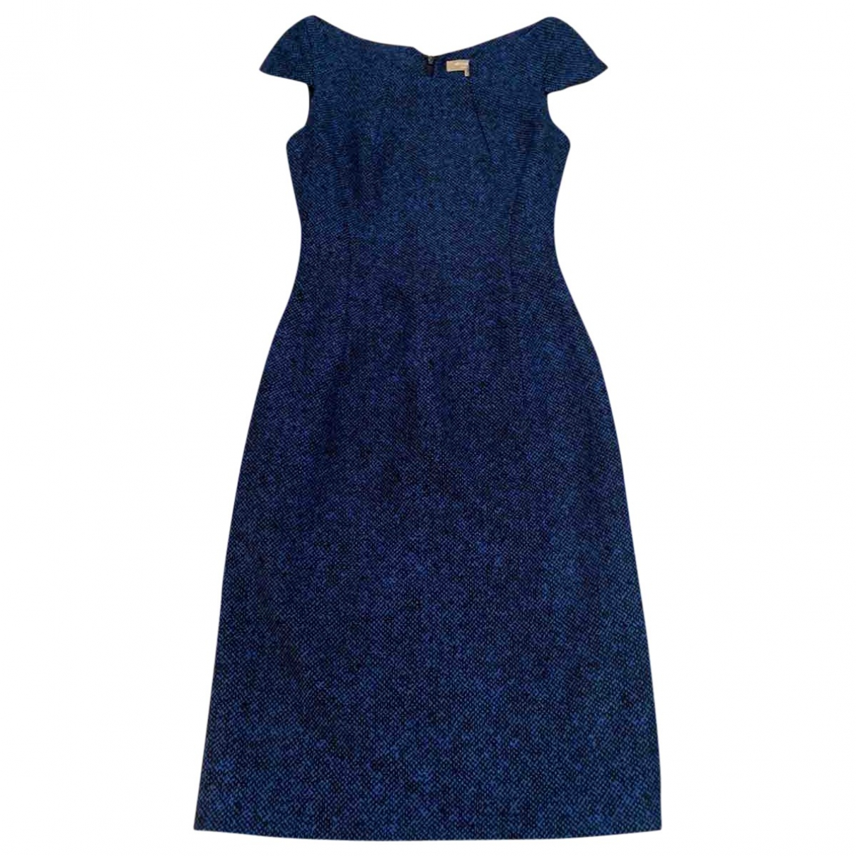 Michael Kors \N Blue Wool dress for Women 4 US