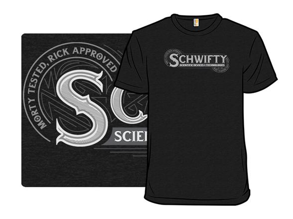 Schwifty Tech T Shirt
