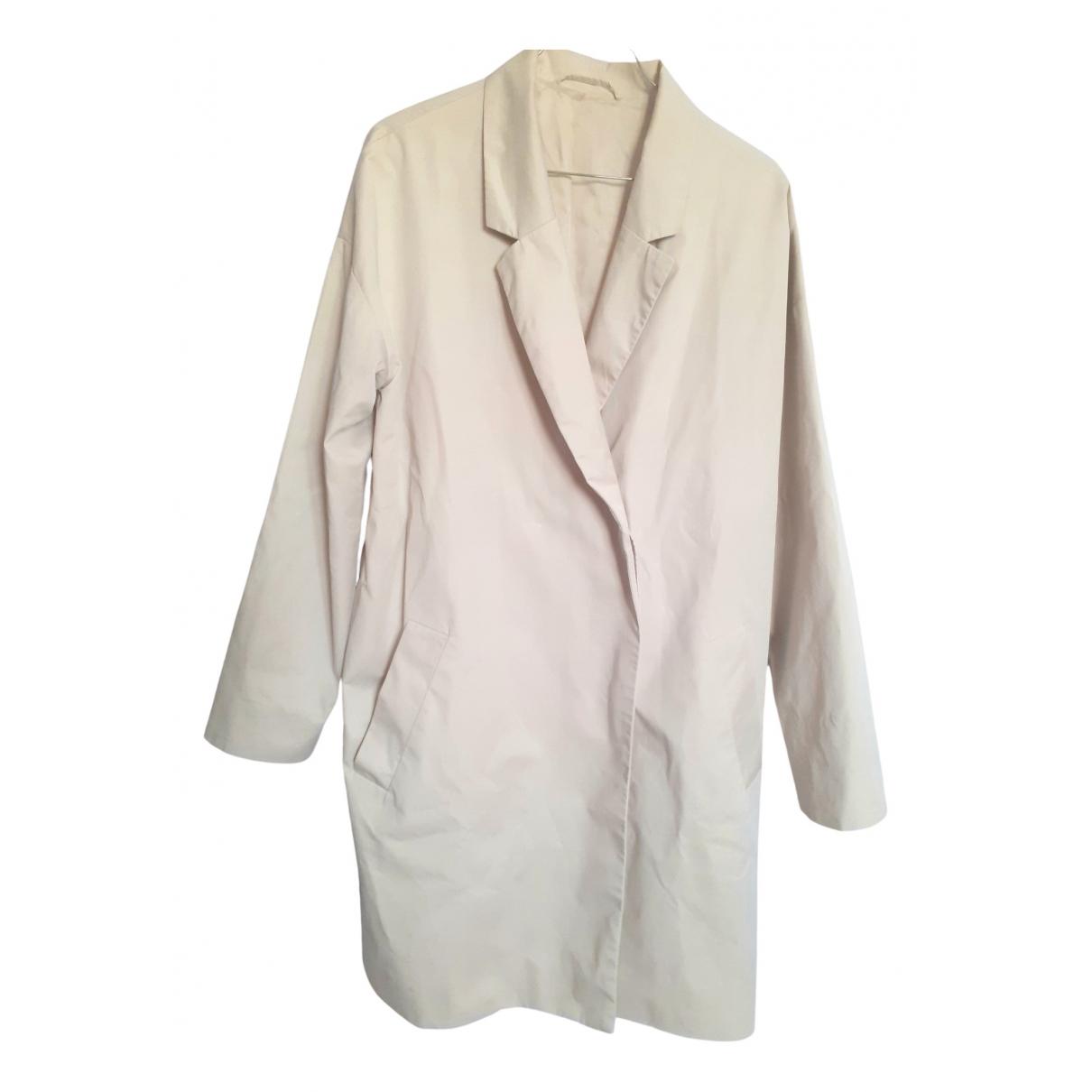 Cos \N Beige Cotton coat for Women 36 FR