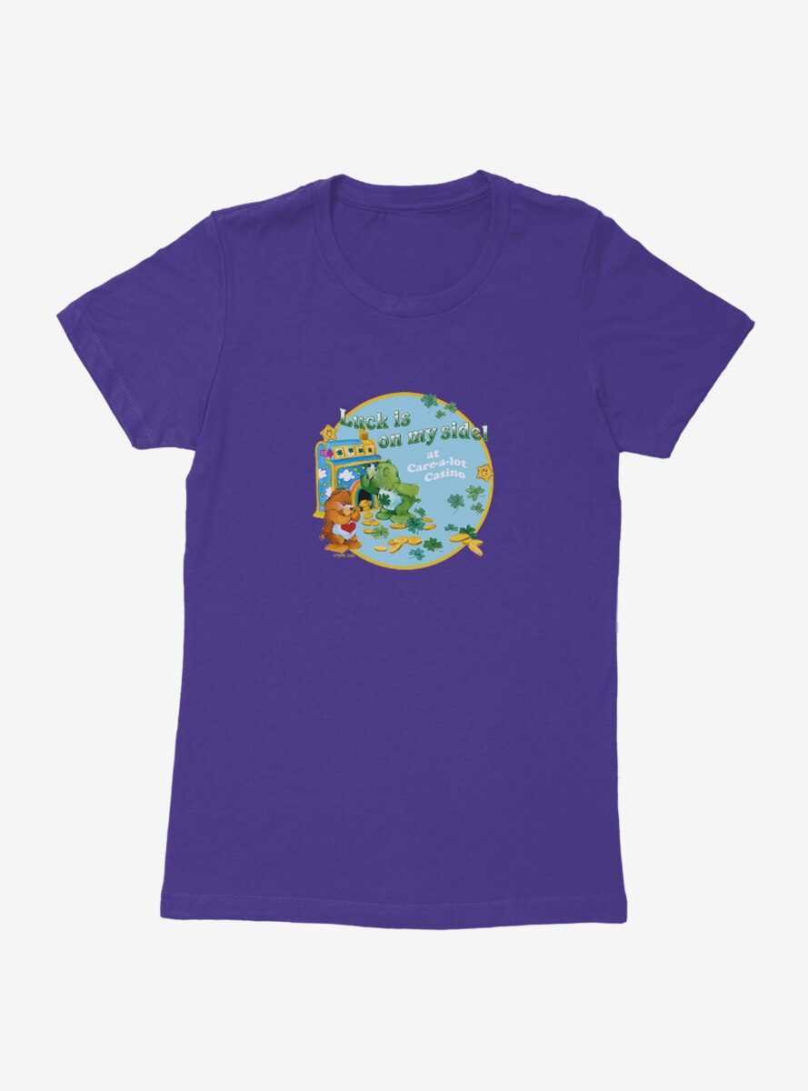 Care Bears Luck On My Side Stamp Womens T-Shirt