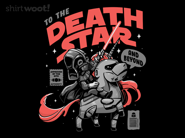 To The Death Star T Shirt
