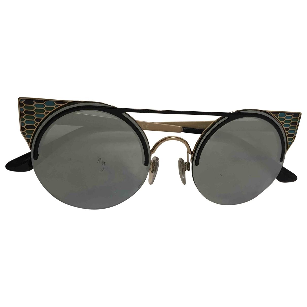 Bvlgari \N Sonnenbrillen in  Blau Metall