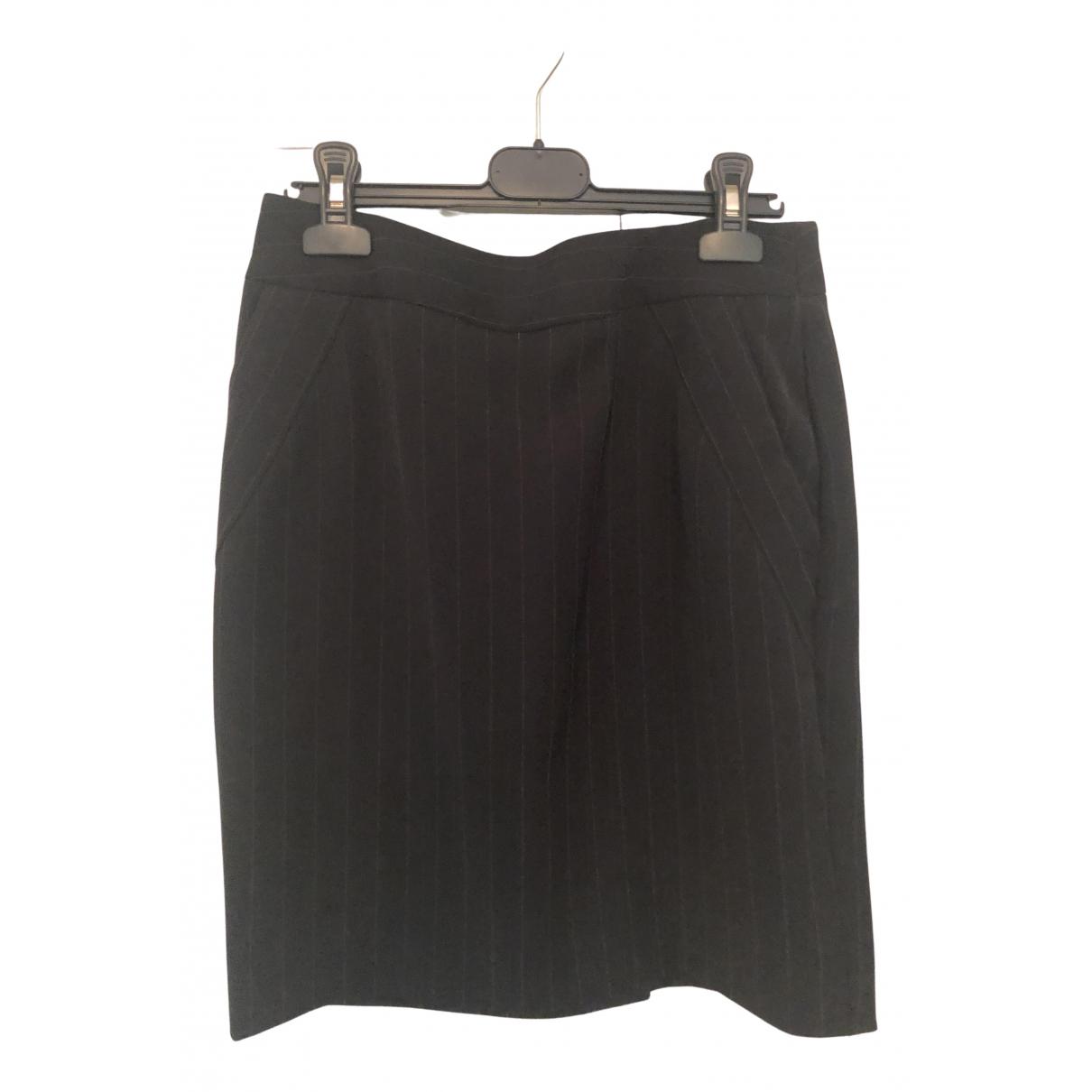 Emporio Armani N Black Wool jacket for Women 40 IT