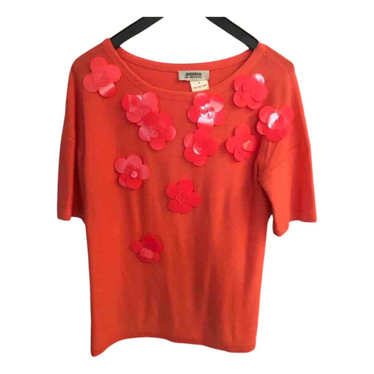 Sonia By Sonia Rykiel - Top   pour femme en coton - orange