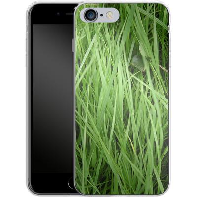 Apple iPhone 6s Plus Silikon Handyhuelle - Grass von caseable Designs