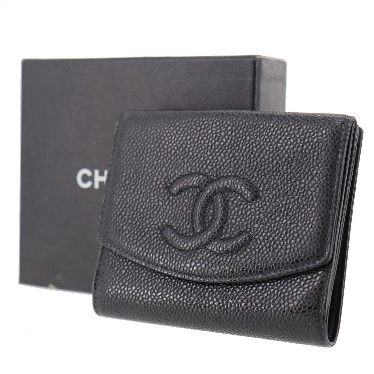 Chanel - Portefeuille   pour femme en autre - noir