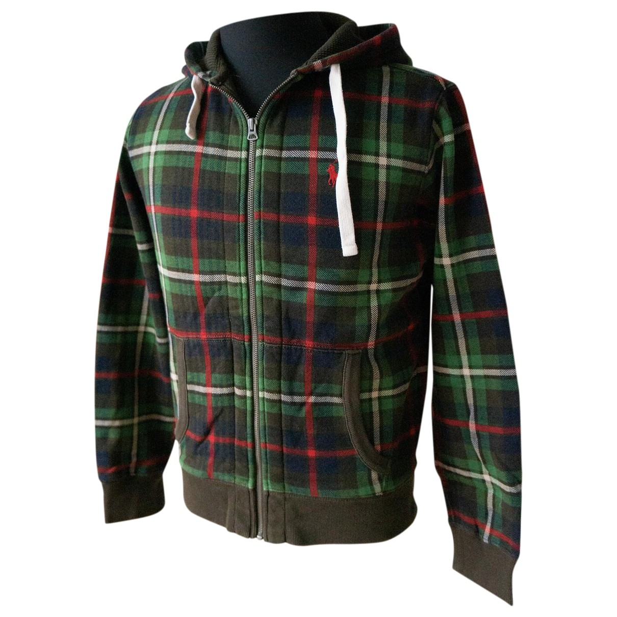 Polo Ralph Lauren \N Pullover.Westen.Sweatshirts  in  Gruen Baumwolle