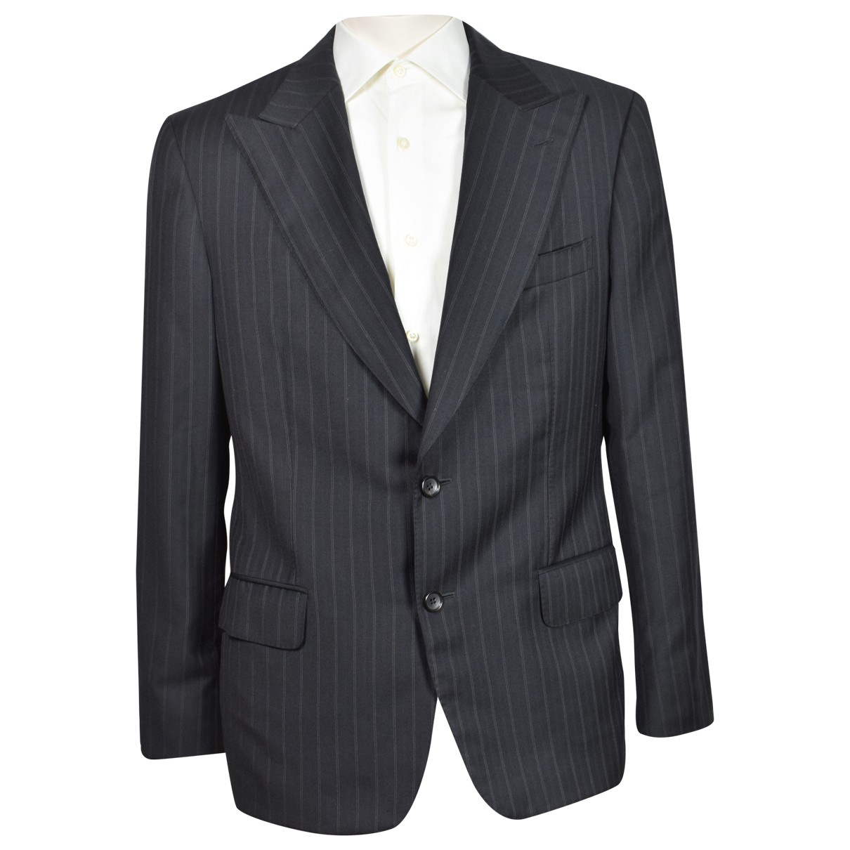 Gucci N Black Wool Suits for Men 50 IT