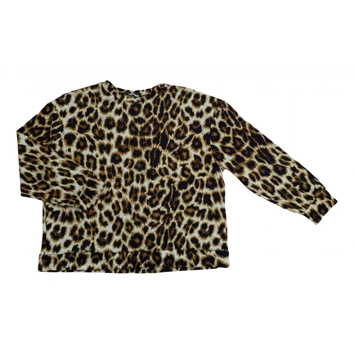 Zara \N Pullover in  Braun Polyester