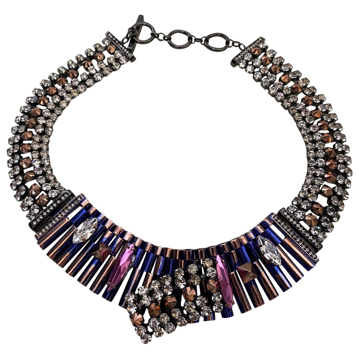 Iosselliani - Collier   pour femme en metal - multicolore