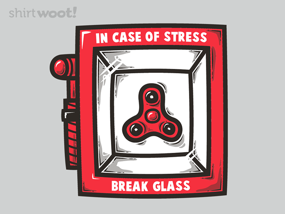 In Case Of Stress T Shirt