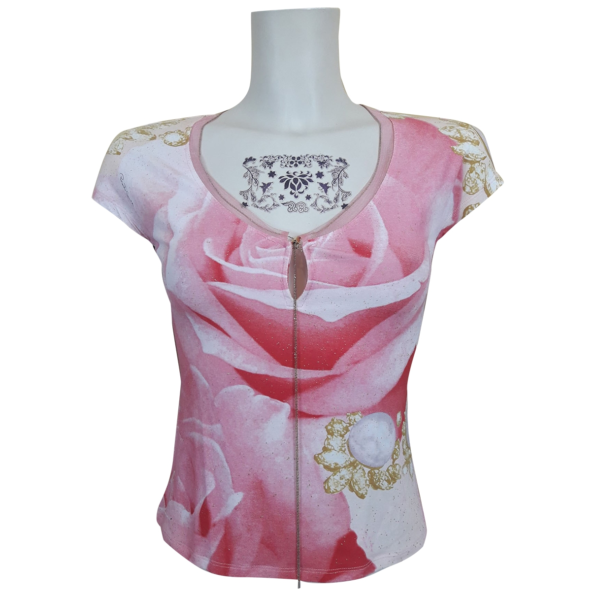 Roberto Cavalli \N Multicolour Silk  top for Women S International