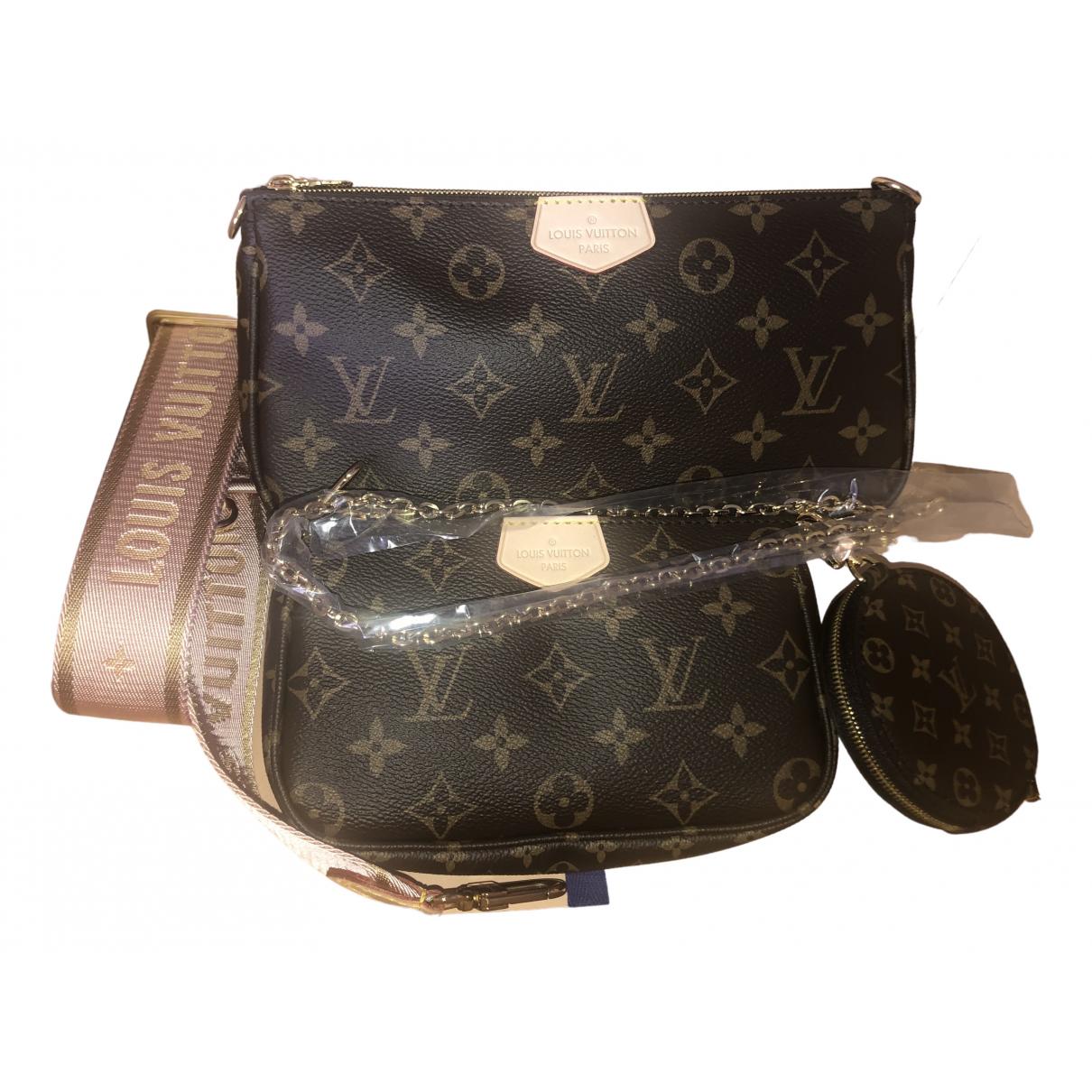Louis Vuitton Multi Pochette Access Pink Cloth handbag for Women N