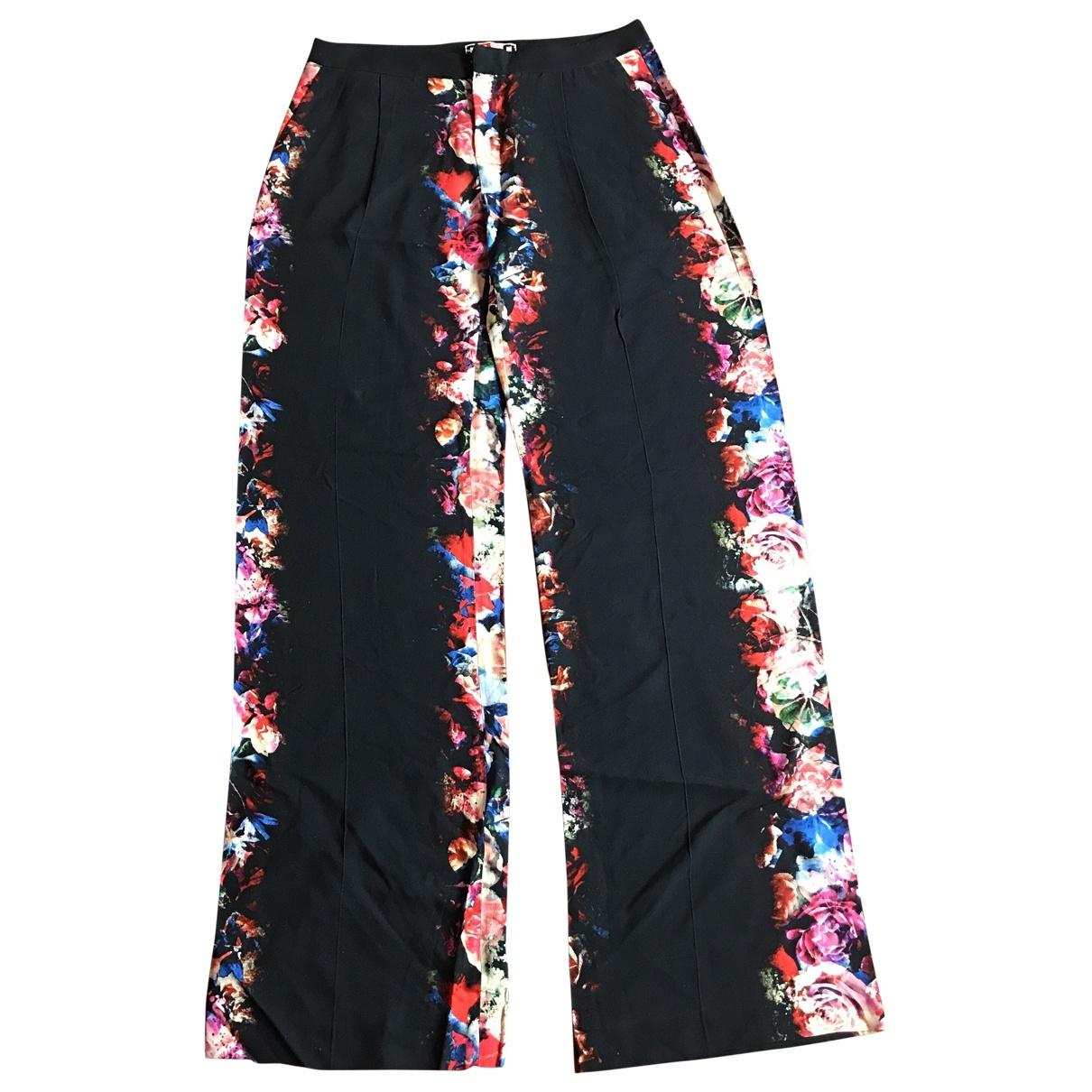 Msgm \N Multicolour Trousers for Women 44 IT