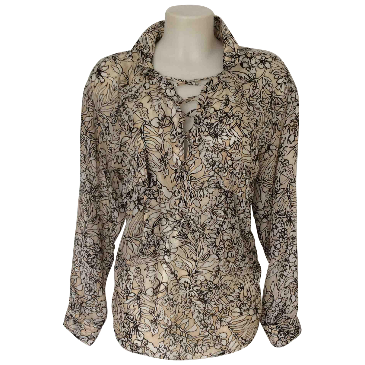 Autre Marque N Multicolour Silk  top for Women S International