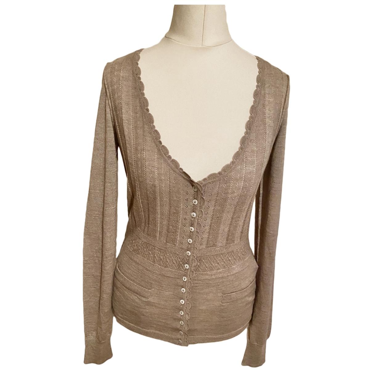 Dolce & Gabbana - Pull   pour femme en cachemire - beige
