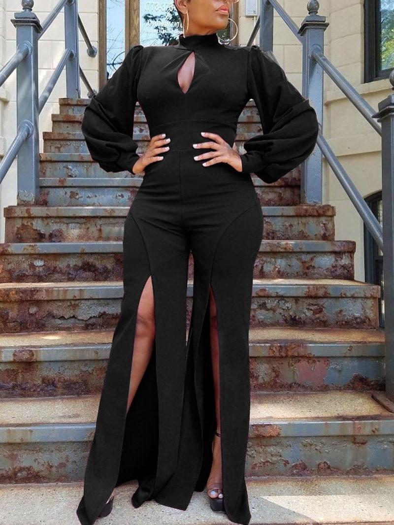 Ericdress Plain Full Length Fashion Slim Sexy Jumpsuit
