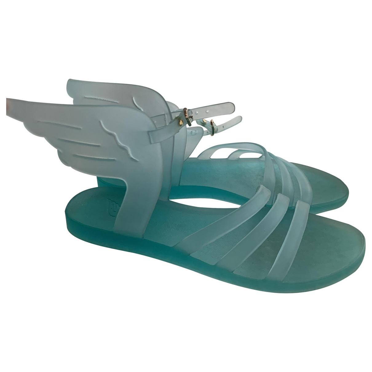 Ancient Greek Sandals \N Sandalen in  Tuerkis Kautschuk