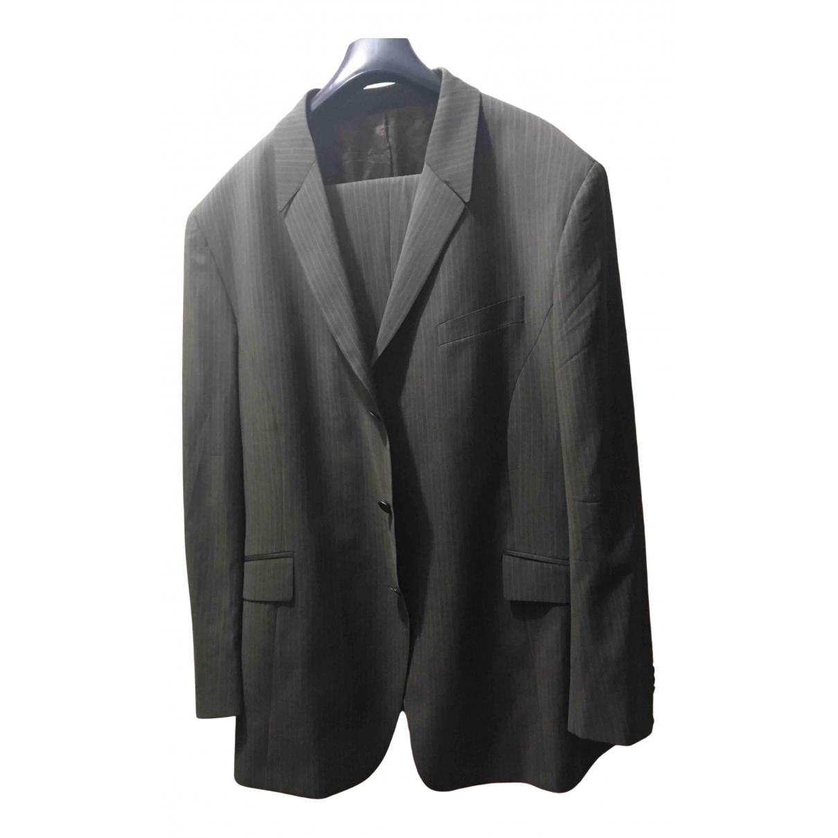 Thierry Mugler - Costumes   pour homme en laine - gris