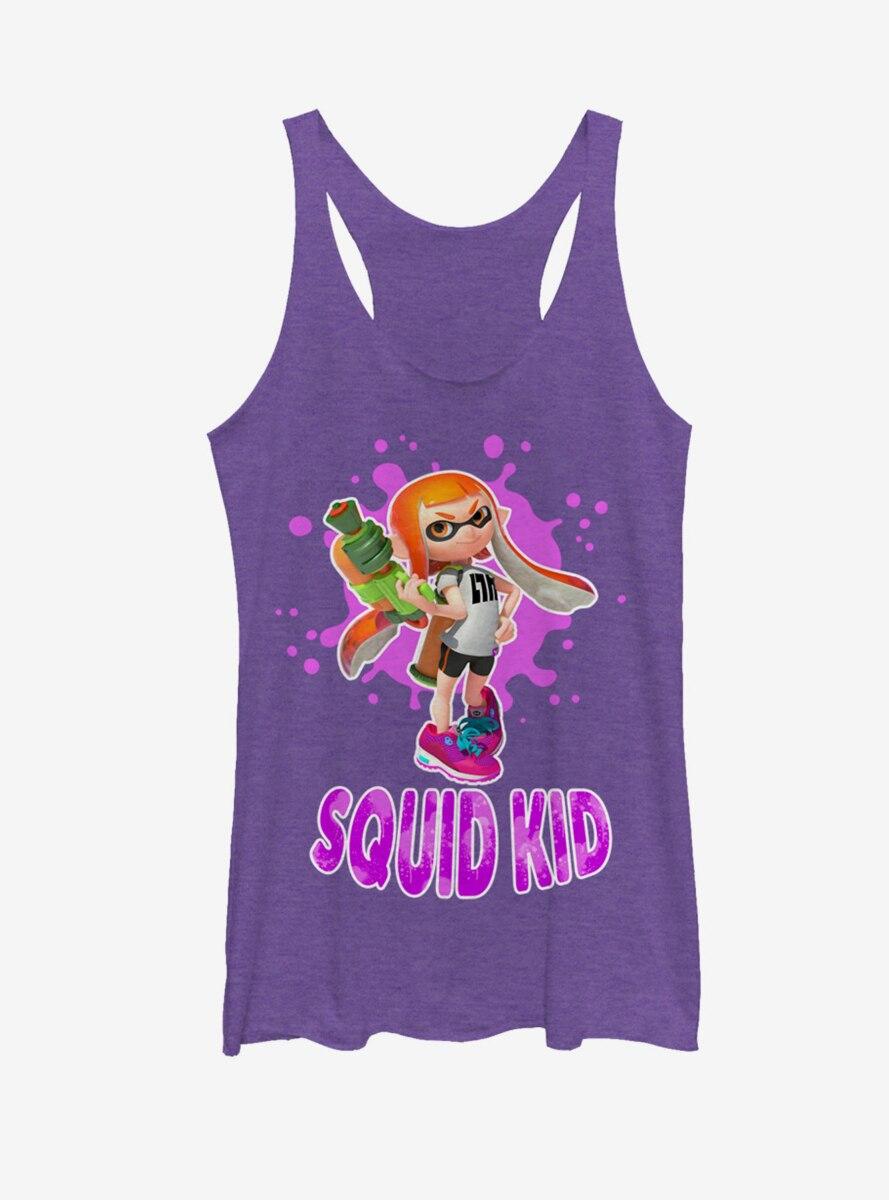 Nintendo Splatoon Squid Kid Womens Tank Top