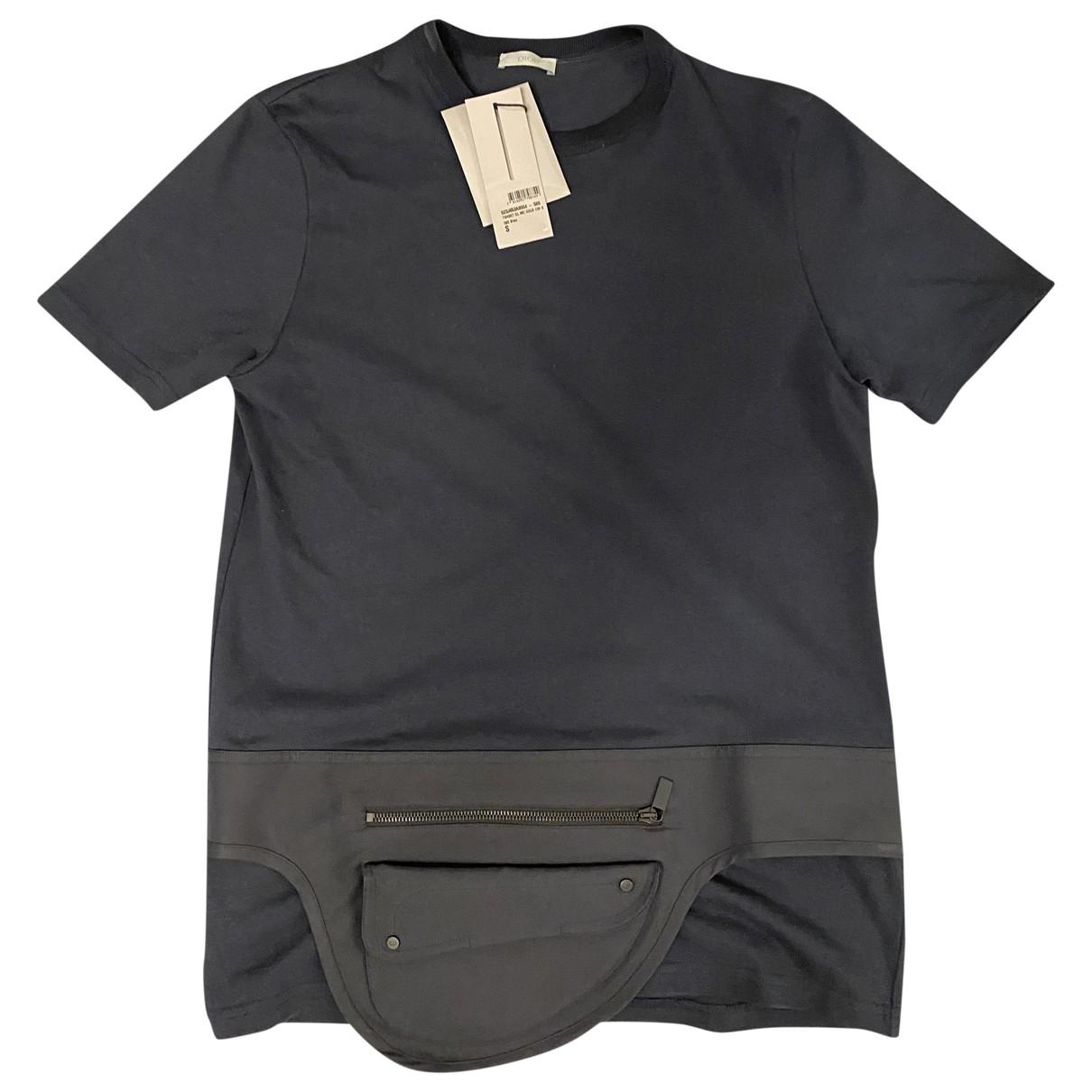 Dior Homme - Tee shirts   pour homme en coton - marine