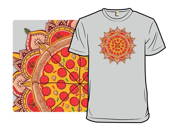 Sacred Pizza T Shirt