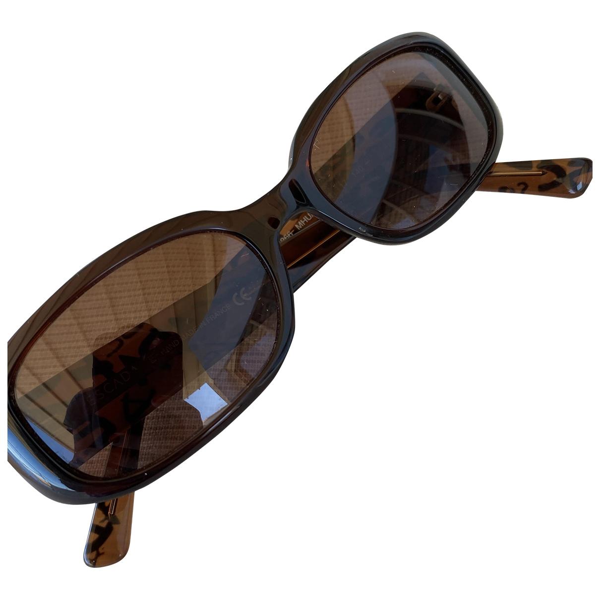 Escada \N Brown Sunglasses for Women \N