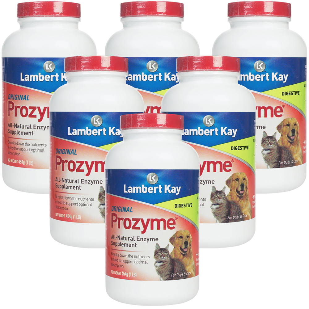 Prozyme Orginal for Dogs & Cats 6-Pack (2724 gm)
