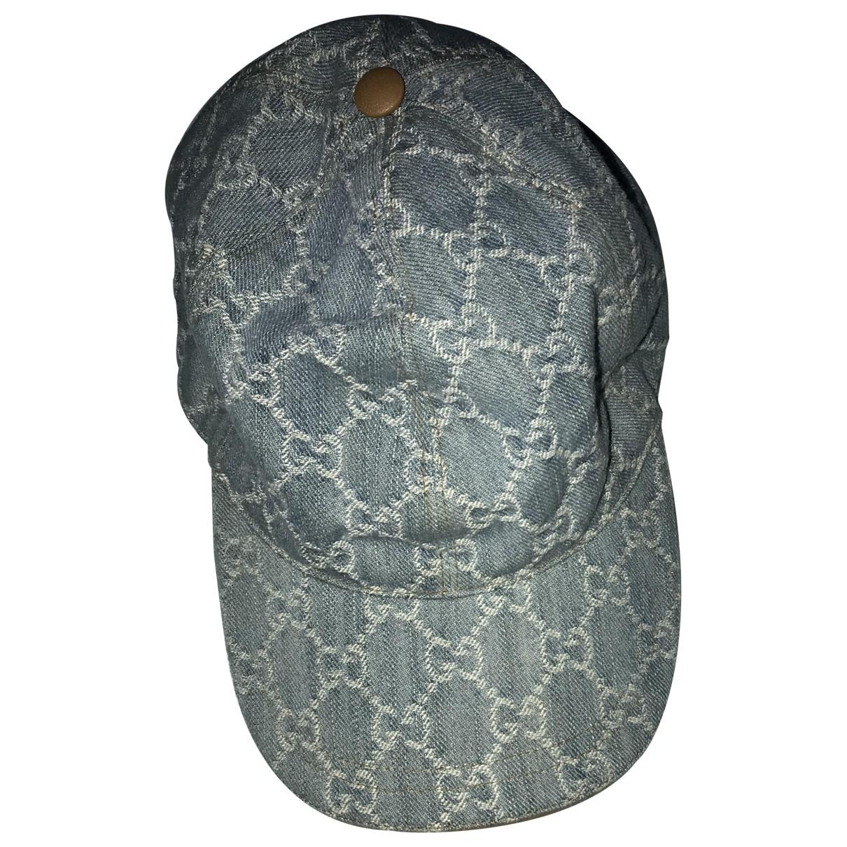 Gucci \N Blue Cotton hat for Women M International