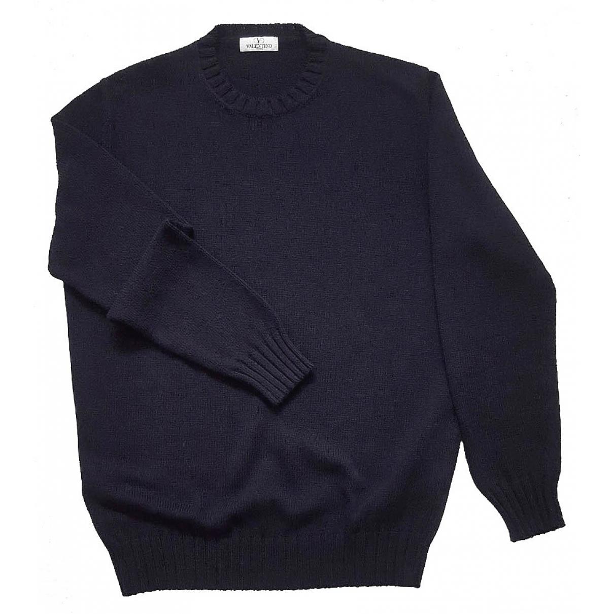 Valentino Garavani - Pulls.Gilets.Sweats   pour homme en coton - bleu