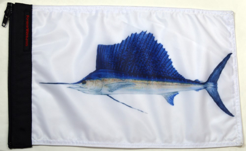 Forever Wave 5250 Sailfish Flag