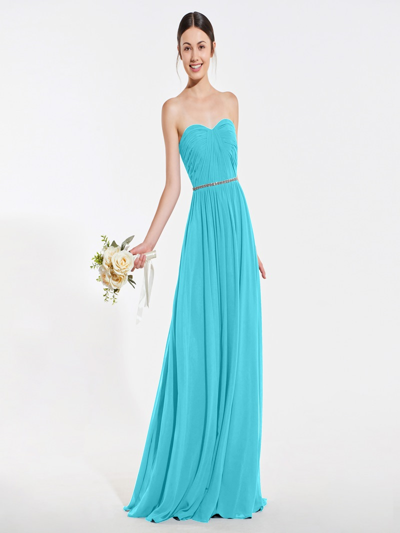 Ericdress Sweetheart A-Line Beading Bridesmaid Dress
