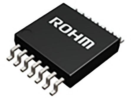 ROHM BU2508FV-E2, 4-Channel DAC, 14-Pin SSOP (5)