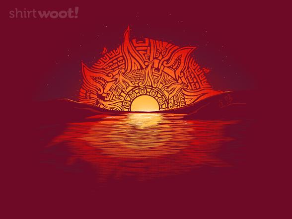 Aztec Sunset T Shirt