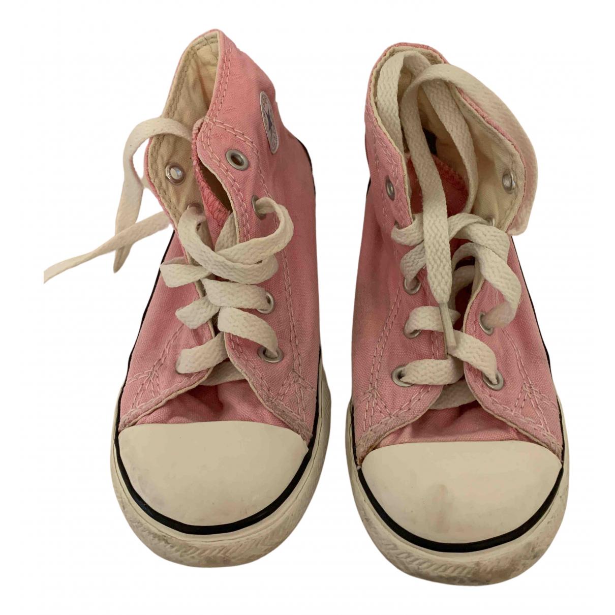 Converse \N Sneakers in  Rosa Leinen